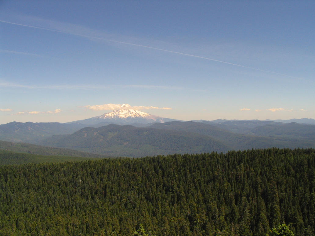 Mt. Hood by brandojones