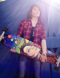Me and My Board by larxenekunii