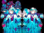 [Render] Elliot y Leo - Pandora Hearts