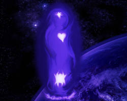 mysterious alien by PSDtech