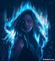 Blue Aura - remastered by PSDtech