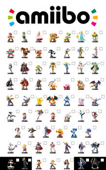 amiibo x Super Smash Bros. Checklist