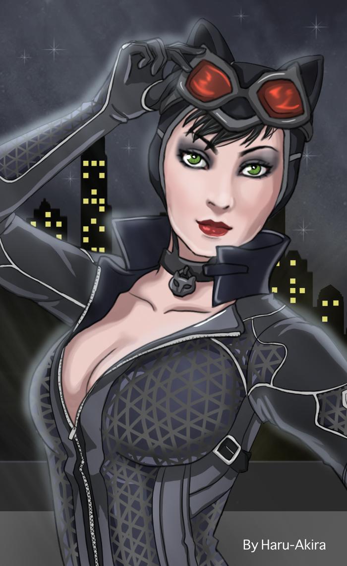 Catwoman by Haru-Akira