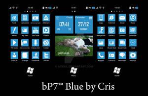 bP7 blue bada 2.0 theme