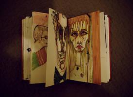 my sketch book by burcuaycan