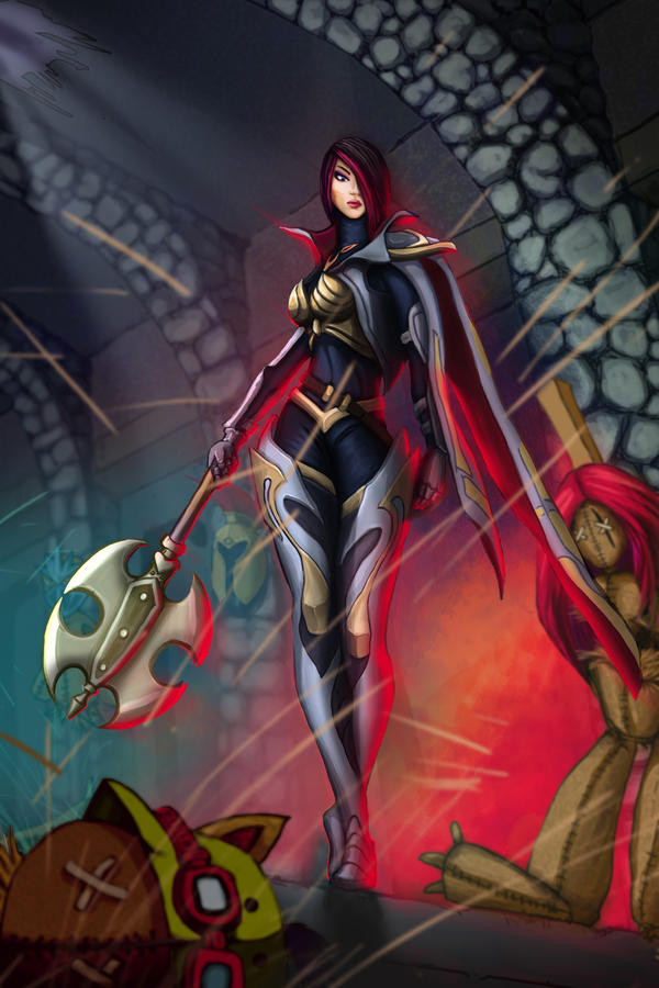 League of Legends - Fiora is Coming by burcuaycan on ...
