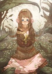 Smiling Mori Girl by wickedalucard