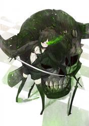 Black Devil Girl by wickedalucard