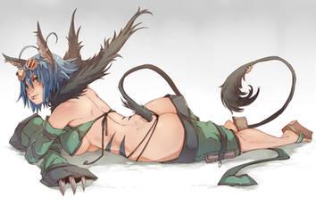 Azumi Haruki by wickedalucard