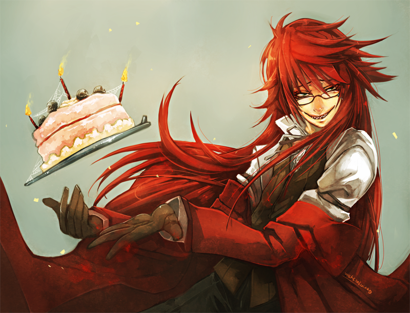 Grell's Home Made Cake by *wickedAlucard