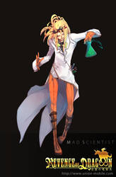 The Mad Scientist by wickedalucard