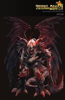 Satan card by wickedalucard