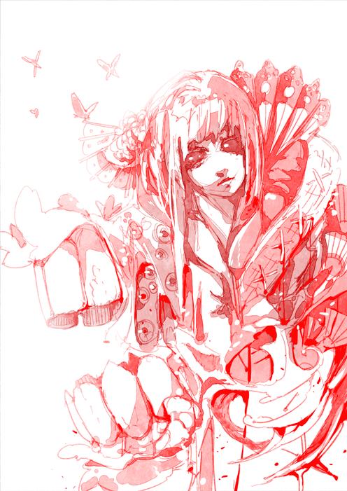 04 24 13 - sketch artjam LALALALALALALA by wickedAlucard