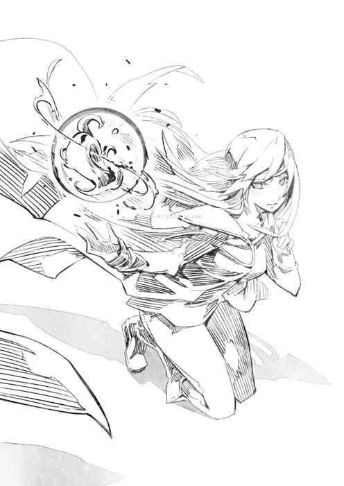 Xanyu Sketch by wickedalucard