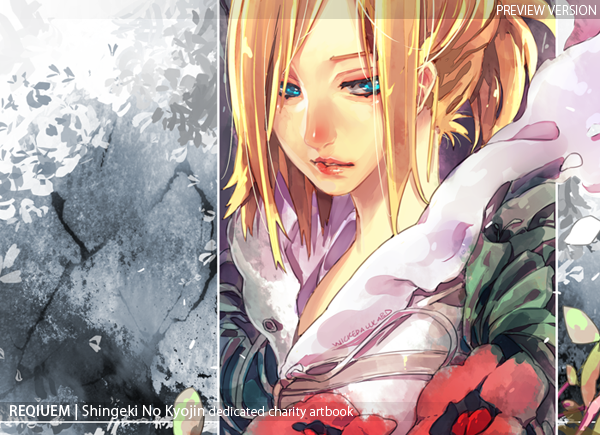 Requiem SNK charity artbook preview by wickedAlucard