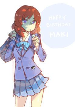 Happy Birthday Maki-chaaaaan