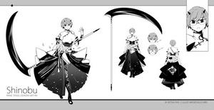Shinobu [design sheet]