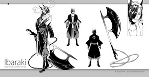 Ibaraki [design sheet]