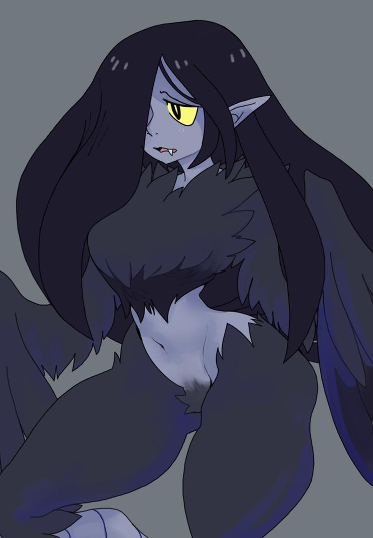 Crow Harpy by Captain-Nero