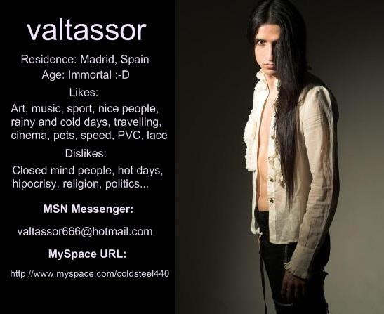 valtassor's Profile Picture