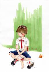 tangerine by AoiKurage