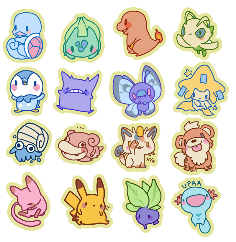 Pokebabies by Wasil
