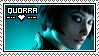 Quorra Stamp by openthesky