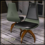 Klingon Chair by Ptrope