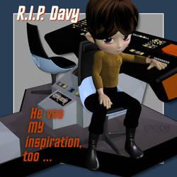 R.I.P. Davy Jones by Ptrope