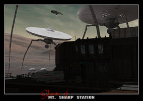 Ghosts of Mt. Sharp Station by Ptrope