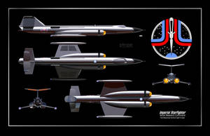 The Improbable Starfighter by Ptrope