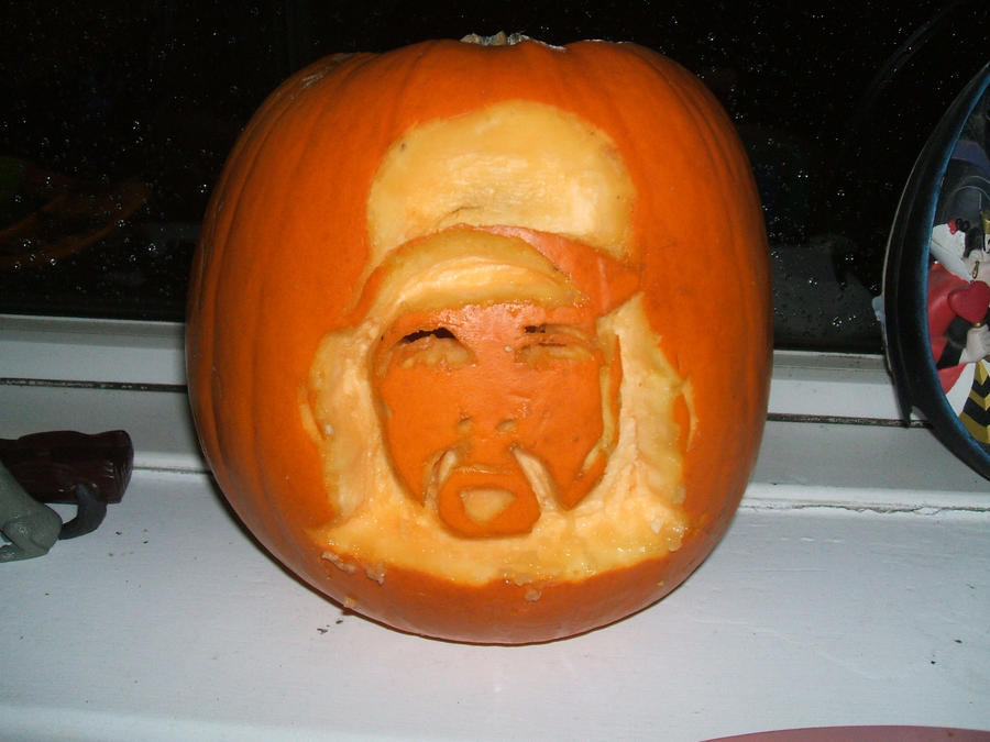 My Dimebag Tribute Pumpkin by BARRICADE4EVA