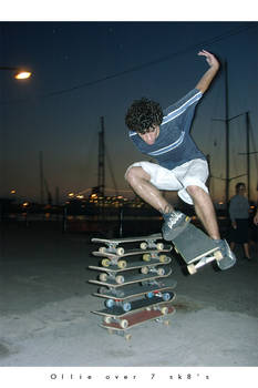 Ollie over 7 sk8
