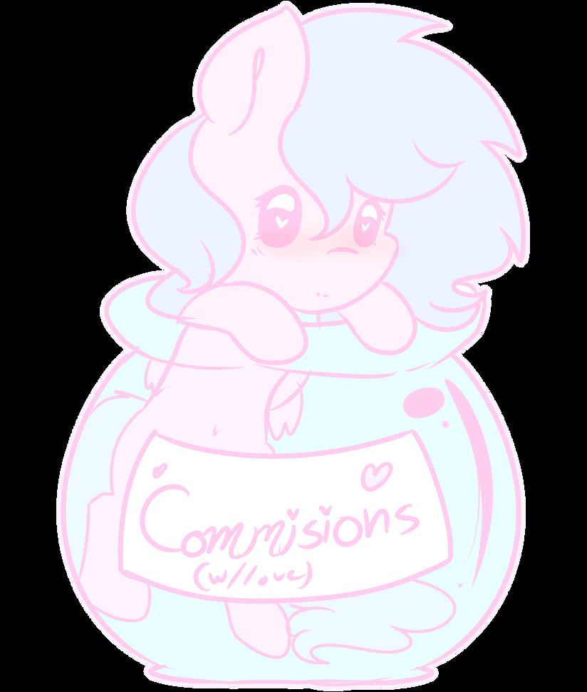 Comissions Chibi  by FleetyArrowDraw
