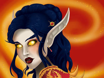 Ferrina Sunbloom by VampireCherry