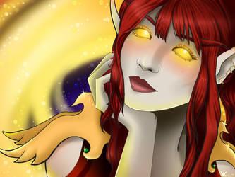 Leandriaa Dawnbloom by VampireCherry