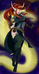 Leandriaa Dawnbloom. by VampireCherry