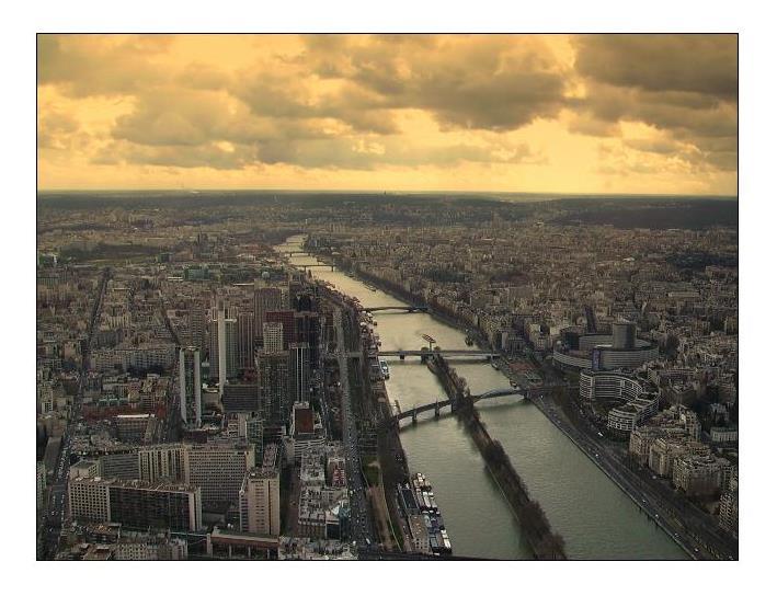 La Seine by VioletJu