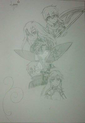 Preview dibujo de SAO by LalaSweet98