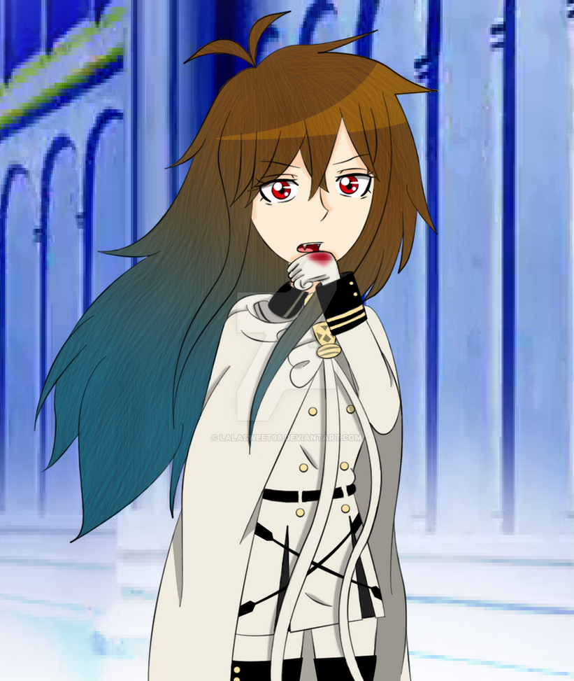 Asuna-Owari no Seraph 2 by LalaSweet98