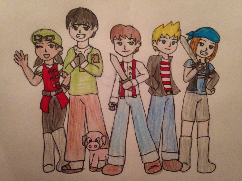 Minecraft story mode the group by Magicmel13 .