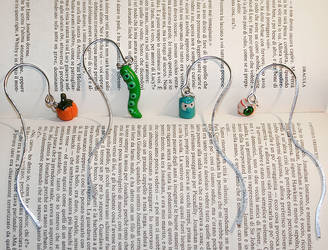 Wire bookmarks by M-Kite