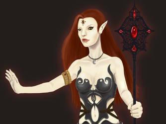Dark Elf by merrycarousel