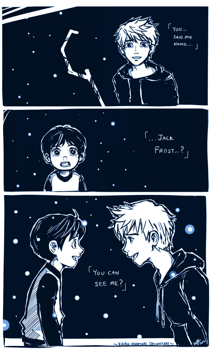 RotG: ..You can see me? by Kaira-Hiwatari