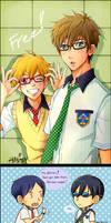 Free! : Nagisa and Makoto