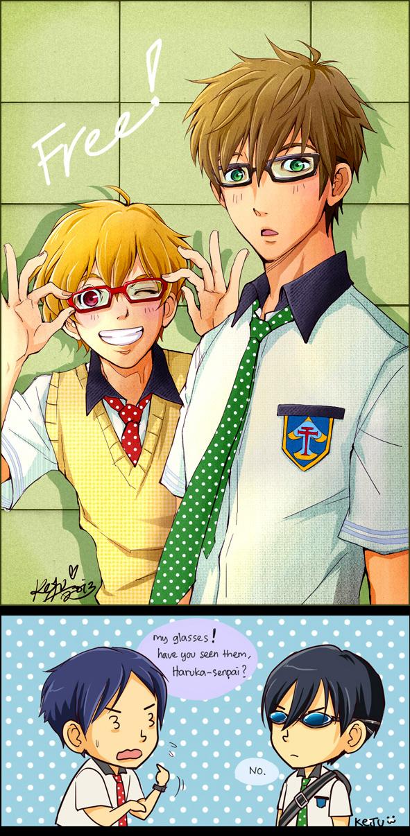 Free! : Nagisa and Makoto by Kaira-Hiwatari