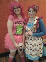 Pinkie Pie and Mrs. Cake MTAC 2013