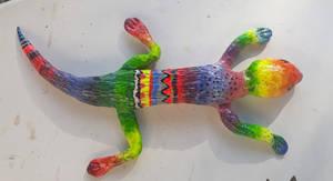 Clay lizard