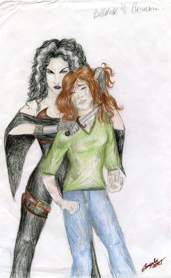 Pictures of Bellatrix And Hermione Anime - #rock-cafe