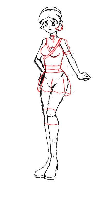 How i draw 2 by JuliaxRyuga